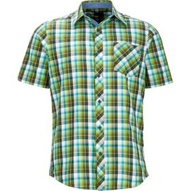 Marmot Ridgecrest - Camiseta manga corta Hombre - verde/Multicolor